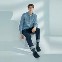 [스토] 울 몽 슬리퍼-Dark Grey