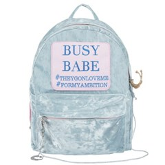 BUSY BABE BLUE