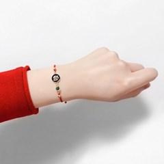 [선물포장]탄생석+별자리 매듭팔찌 NEW (3컬러)