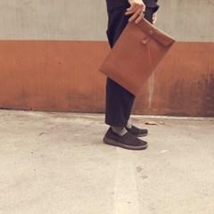 A4 FILE BAG brown