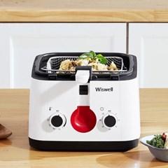 위즈웰 WH2125 딥프라이어 /전기튀김기/가정용튀김기/돈까스