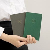 18 HALF DIARY set_green gray