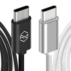 메탈릭 고속충전 USB C타입 충전케이블 충전기