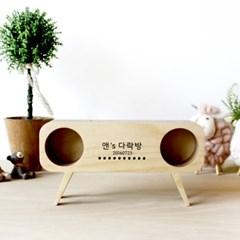 자작나무 무전원스피커 팡팡