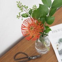 유니크한 가을 꽃 핀쿠션