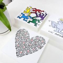 [rooms5] 키스 해링 그림액자 시리즈 (5종)