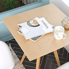 오프너 600 원목 테이블 (사각)