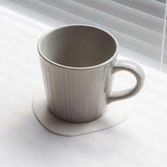 조약돌 실리콘 컵받침