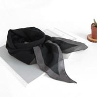 [베네]라인 엣지 마름모 스카프
