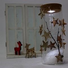 자작별 LED 유리돔