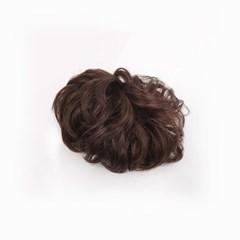 올림머리 당고머리 부분가발 자동핀