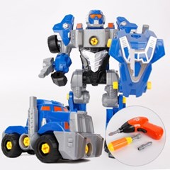 [Toyplus] 슈퍼파워 변신로봇 만들기-전동공구 (1501)