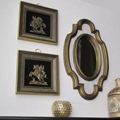 인테리어 소품 월아트 갤러리 헐리우드 리젠시 장식 거울 액자