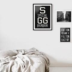 NYC 서브웨이 사인 포스터 (SGG) - A1 A2 A3 A4