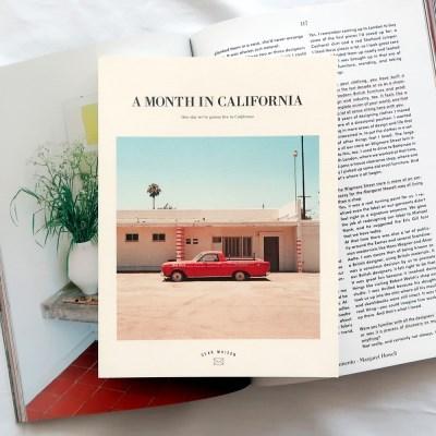 [오리지널 커버] A MONTH IN CALIFORNIA 다이어리 ver.7