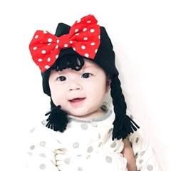 [유호랑] 써니비니-아기위그햇