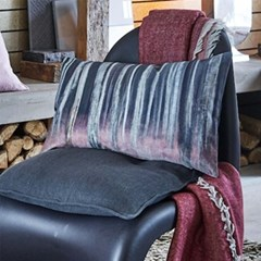 PROFLAX - LOG Cushion Cover (Grey & Merlot)