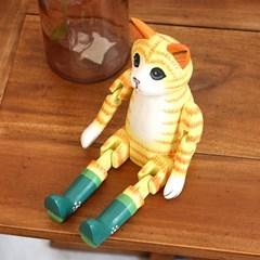 고양이소품 장화신은 고양이 장식품