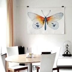패브릭 포스터 F122 동물 그림 태피스트리 나비