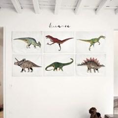 패브릭 포스터 F108 티라노 동물 그림 공룡 no.2