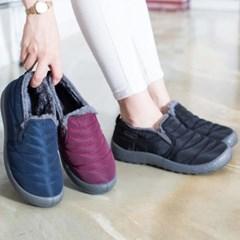 kami et muse Stitch soft pedding fur sneakers_KM17w150