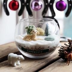겨울 숲 속 동물 다육테라리움 만들기(사슴)