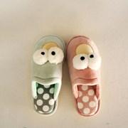 실내용 슬리퍼-빅아이 도트(3color)