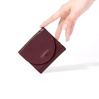 French Half Wallet - Burgundy (태슬증정)