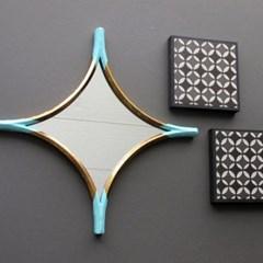 북유럽 인테리어 소품 월아트 갤러리 빈티지 거울 액자