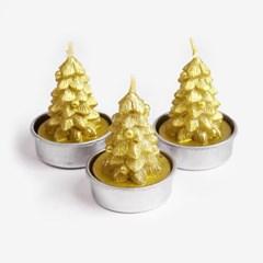 크리스마스 트리 캔들 (1set)