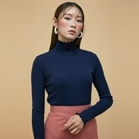 Retro Wave Turtleneck (4colors)