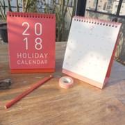 2018 Holiday Calendar