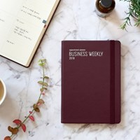 2018 Appointment Planner [B6 Business Weekly Plan]