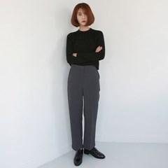 Elastic simple knit