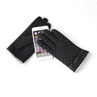 [베네]CAPACCI 패딩 퀼팅 남성 스마트폰 장갑