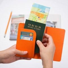 꼬등어 여권케이스