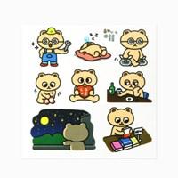 [룸룸] 룸룸 캐릭터 스티커