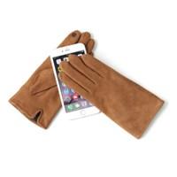 [베네]컬러 양가죽 스웨이드 스마트폰 여성장갑
