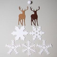 사슴군의 겨울나기(7ea)