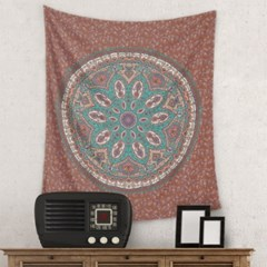 Mandala Flower pattern 태피스트리by노윤 (334211)