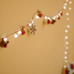 FN7769 산타의 크리스마스가랜드2개+알전구60구