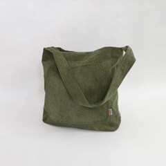 Corduroy pocket casual bag