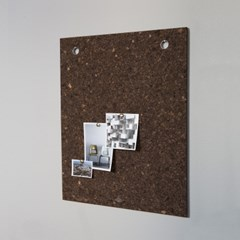 [LOW KEY] Black cork pin board - Medium (로우키 코르크 핀보드-M)