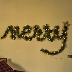 DIY 크리스마스 벽트리