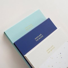 Memo pad set (3pcs)