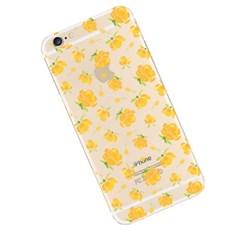 노란꽃 (CHF-001) 투명 하드 케이스