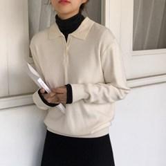 모나 카라 니트