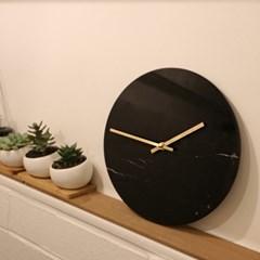 Marble Wall Clock 천연 마블 대리석