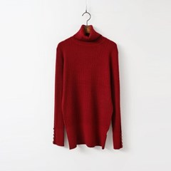 Twist Wool Turtleneck Knit