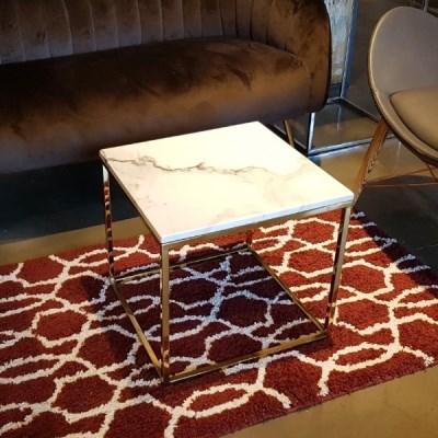 [로이퍼니처랩] 보아스 마블 대리석 사각 테이블_(1733596)